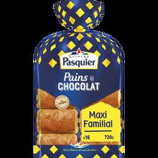 Pain au chocolat PASQUIER, x16, 720g