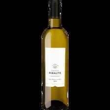 Corbières AOP blanc Entre Rivière et Colline, bouteille de 75cl