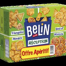Assortiment crackers réception Lu BELIN, boite de 380g Offre Apéritif