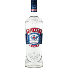 Poliakov Vodka , 37,5°, 1l