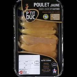 Aiguillette de poulet jaune, P'TIT DUC, France, 9 pièces