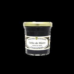 Gelée de mûres au miel RUCHERS DE BOURGOGNE, 375g