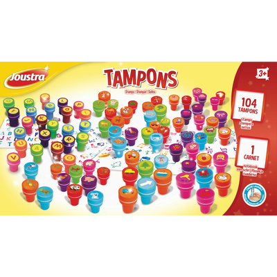 TAMPONS 104 PIECES JOUSTRA