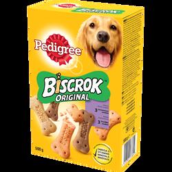 Biscuits pour chien Biscrok 3 variétés PEDIGREE, 500g