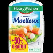Fleury Michon Bâtonnets De Surimi Moelleux, Fleury Michon, X27, 288g+ 50% Offert Soit 432g