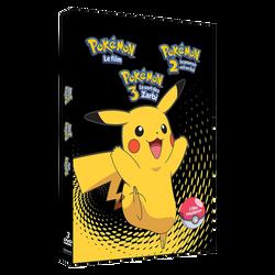 Coffret 3 dvd Pokemon-films de 1 à 3