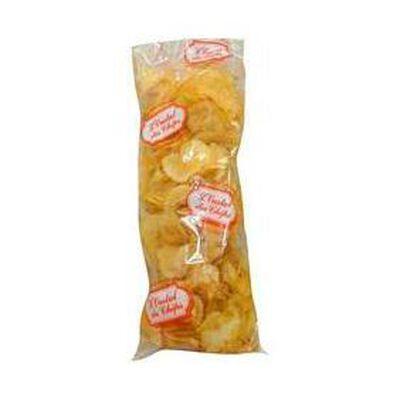 Chips de l'oustal, fabrication artisanale  Sud de France  sachet de 200g