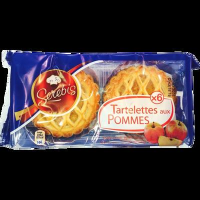 Tartelettes aux pommes SEREBIS, 300g