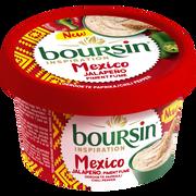 Boursin Fromage Pasteurisé Inspiration Mexico Boursin, 30,5%mg, 125g