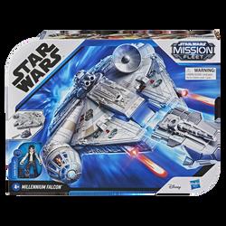 Star Wars - Faucon Millenium et figurine Han Solo - Dès 4 ans