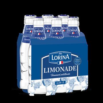 Lorina Limonade Artisanale Lorina Verre 6x20cl
