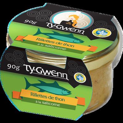 Rillettes de thon à la salicorne, TY GWENN, 90g