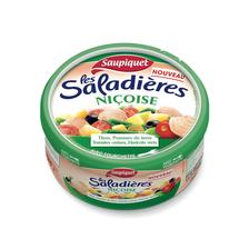 Saladière snacking Niçoise SAUPIQUET, 1/3, 220g