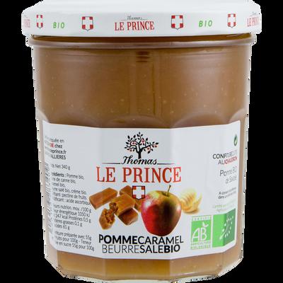 Confiture caramel beurre salé bio THOMAS LE PRINCE, 340g