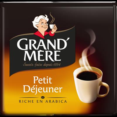 Café moulu dégustation petit déjeuner GRAND MERE, 2x250g