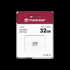 CARTE MEMOIRE MICRO SECURE DIGITAL TRANSCEND 32GO-300S