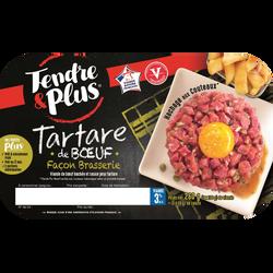Tartare de boeuf façon brasserie, TENDRE ET PLUS, France, 260g