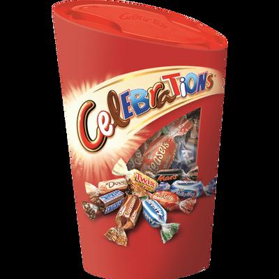 Chocolats assortis CELEBRATIONS, ballotin de 280g