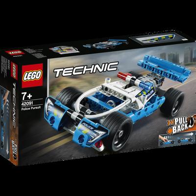 La voiture de police LEGO Technic