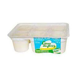 Fromage blanc fermeir AU COEUR DU FOREZ, 6x120g