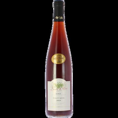 Vin rouge AOC Pinot Noir Alsace cuvée prestige BARON DE HOEN, bouteille de 75cl