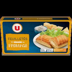 Feuilleté fromage U, 8x65g soit 520g