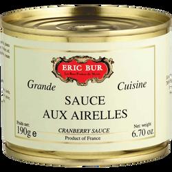 Sauce aux airelles ERIC BUR, 190g