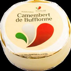 Camembert de bufflonne, au lait pasteurisé, 28%mg 250g