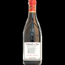 Vin rouge Châteauneuf du Pape AOP Vignoble Abeille, bouteille de 75cl