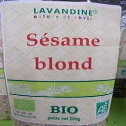 sésame blond bio 200g