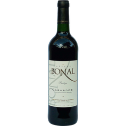 Vin rouge AOP Cabardès prestige Château Bonal, 75cl