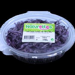 Chou rouge, NATURETTES, barquette 100g