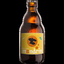 Bière au miel MANDRIN 4.8°, bouteille 33cl