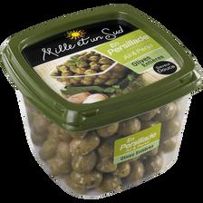 Olives entières en persillade ail et persil MILLE ET UN SUD, 400g