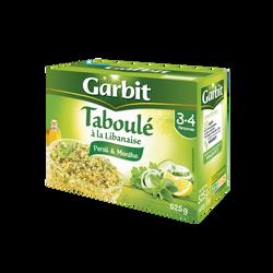 Taboulé persil et menthe à la libanaise GARBIT, étui de 525g