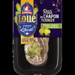 Rôti de chapon raisin/fine champagne, LOUE, France, 1 pièce, 660g