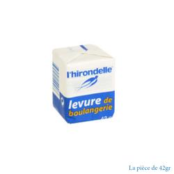 CUBE DE LEVURE L'HIRONDELLE