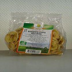 Bananes chips séchées Naturaline bio 200g