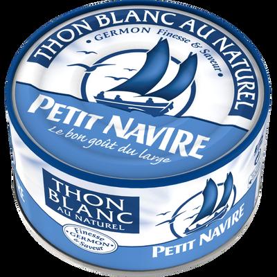 Thon blanc au naturel PETIT NAVIRE, 93g
