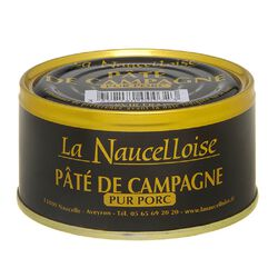 SAVY PATE DE CAMPAGNE LA NAUCELLOISE CONSERVE DE 190G