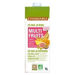 Jus multifruits bio ETHIQUABLE - 1L