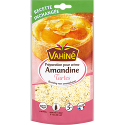 Préparation pour tarte crème amandine VAHINE, 200g