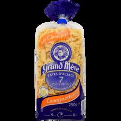 Lasagnettes IGP GRAND'MERE, paquet de 250g