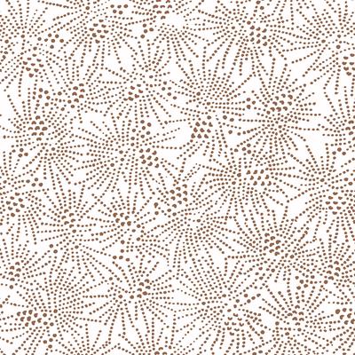 Serviettes sencha copper HAPPY PAPER, 3 plis, 33x33cm, x20