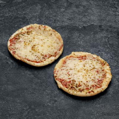 Pizza jambon emmental SAPRESTI 2x140g