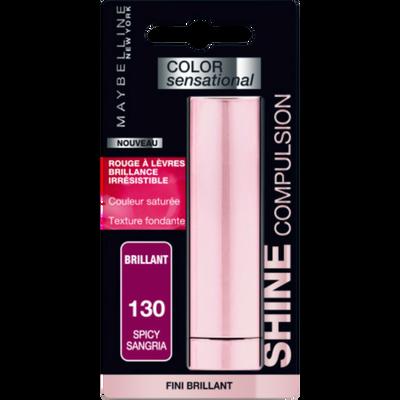 Rouge à lèvres color sensational shine compulsion 130 blister MAYBELLINE