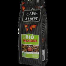 Café moulu Mexique BIO issu de l'agriculture biologique CAFE ALBERT, 250g
