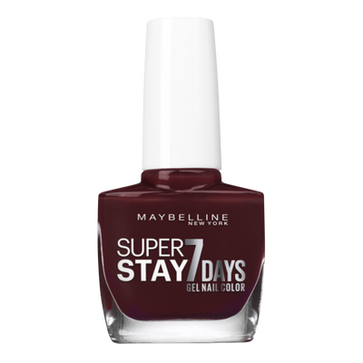 Vernis à ongles superstay7d fall 923 ruby thread nu MAYBELLINE
