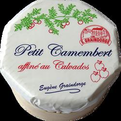 Petit camembert calvados lait pasteurisé 23% de MG TRADITIONS NORMANDIE, 150g