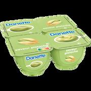 Danone Crème Dessert Saveur Pistache Danette, 4x125g